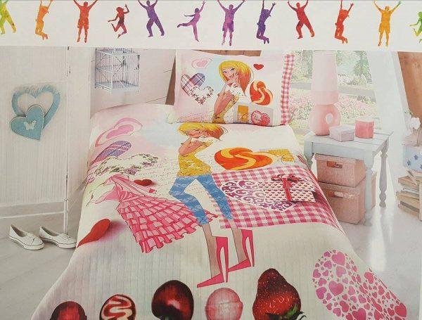 3D Детски Спален комплект - Шалте от 100% Полиетер 075