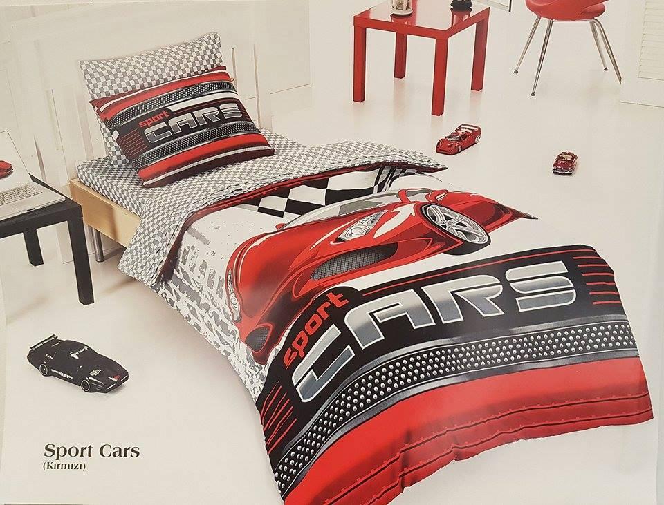 3D Детски Спален комплект - Шалте от 100% Полиетер 079