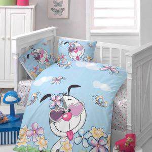 Бебешки спален комплект от 100% памучен ранфорс 058