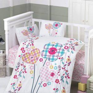 Бебешки спален комплект от 100% памучен ранфорс 061