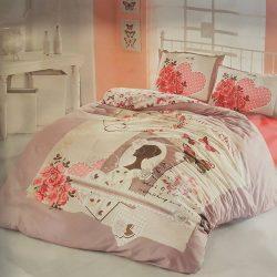 Единичен Спален комплект от 100% памучен ранфорс 002