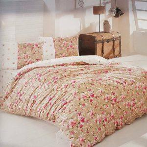 Единичен Спален комплект от 100% памучен ранфорс 004