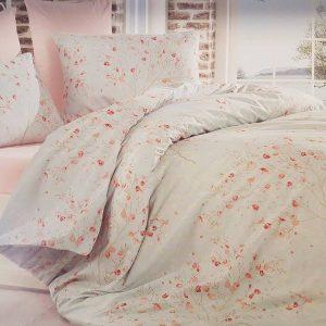 Единичен Спален комплект от 100% памучен ранфорс 006
