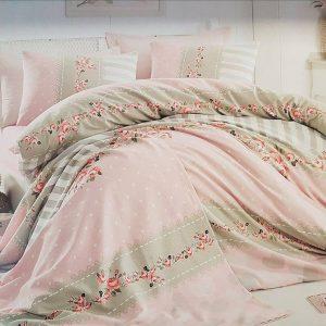 Единичен Спален комплект от 100% памучен ранфорс 011