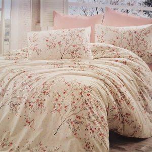 Единичен Спален комплект от 100% памучен ранфорс 012
