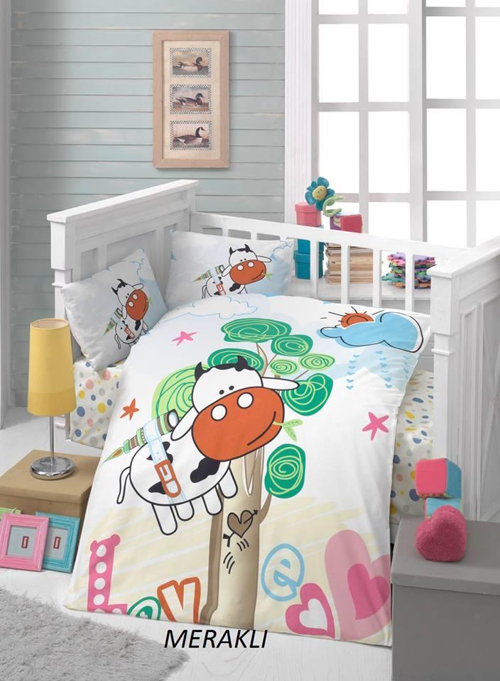 Бебешки спален комплект от 100% памучен ранфорс 164