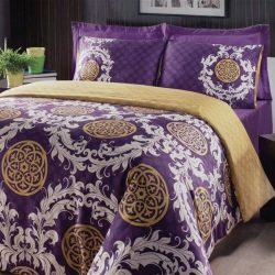 Луксозен Двоен Спален комплект от 100% Сатениран памук 169