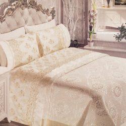 Луксозен Двоен Спален комплект от 100% Памучен сатен и Френска бродерия 189