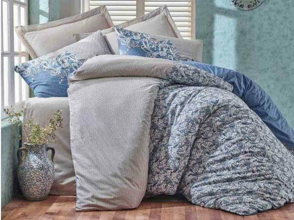 Двоен Спален комплект от 100% памучен ранфорс 200
