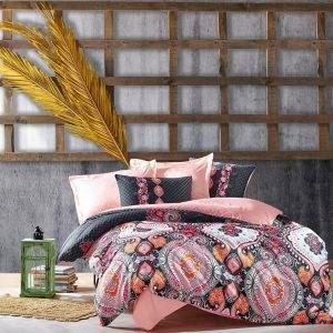 Двоен Спален комплект от Сатениран памук 203