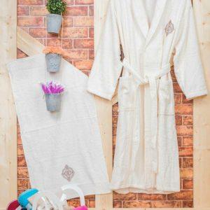 Луксозен комплект за баня от 100% памук