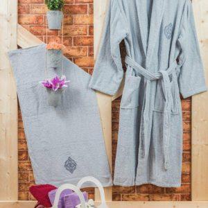 Луксозен комплект за баня от 100% памук 222