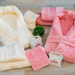 Луксозен комплект за баня от 100% памук 230
