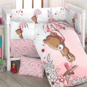 Бебешки спален комплект от 100% памучен ранфорс 264