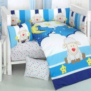 Бебешки спален комплект от 100% памучен ранфорс 265