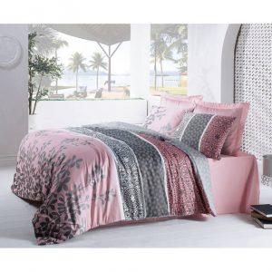 Двоен Спален комплект от Сатениран памук