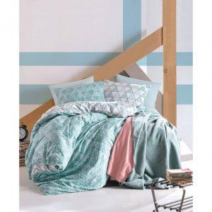 Двоен спален комплект от 100% памучен ранфорс 294