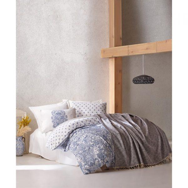 Двоен спален комплект от 100% памучен ранфорс 302