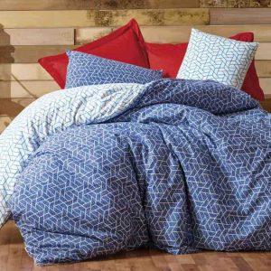 Двоен спален комплект от 100% памучен ранфорс 315