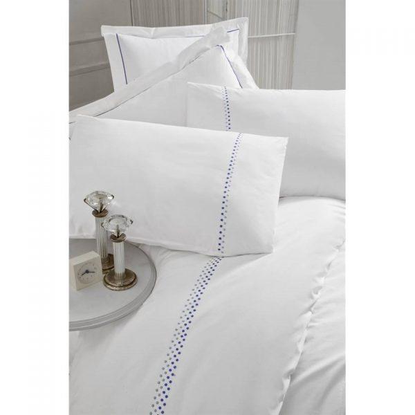 Двоен спален комплект от 100% памучен ранфорс 317