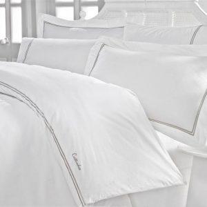 Двоен спален комплект от 100% памучен ранфорс 320
