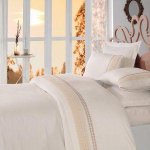 Двоен спален комплект от 100% памучен сатен 331