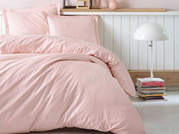 Двоен спален комплект от 100% памучен сатен 332