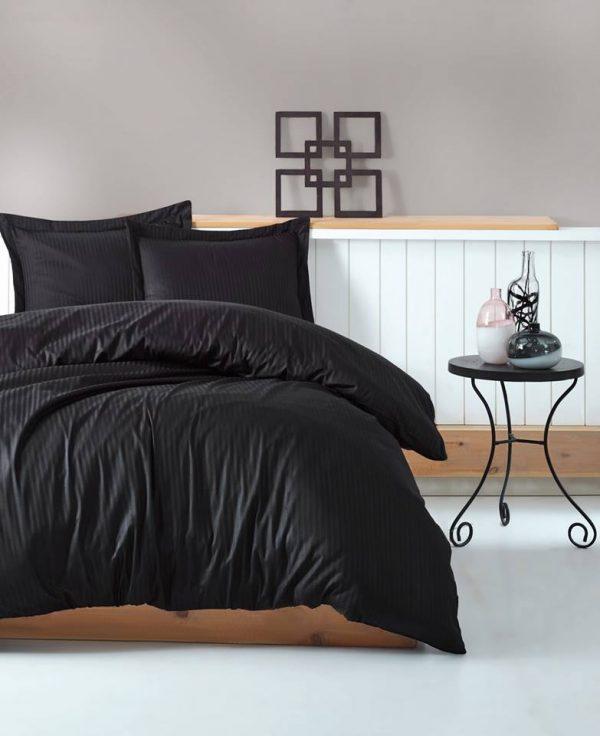 Двоен спален комплект от 100% памучен сатен 335