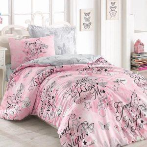 Единичен Спален комплект от 100% памучен ранфорс 285