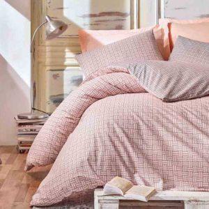 Единичен Спален комплект от 100% памучен ранфорс 270