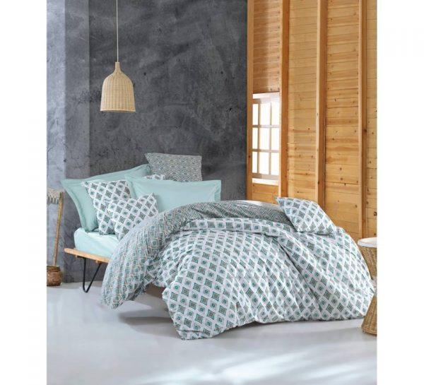 Единичен Спален комплект от 100% памучен ранфорс 274
