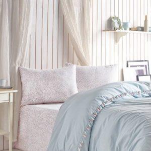 Единичен Спален комплект от 100% памучен ранфорс 276