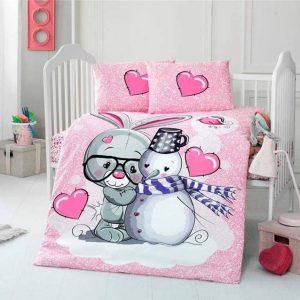 Бебешки спален комплект от 100% памучен ранфорс 349