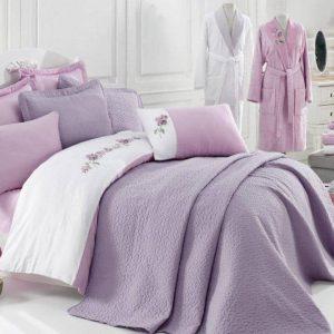 Луксозен семеен комплект за спалня и баня от 17 части 336