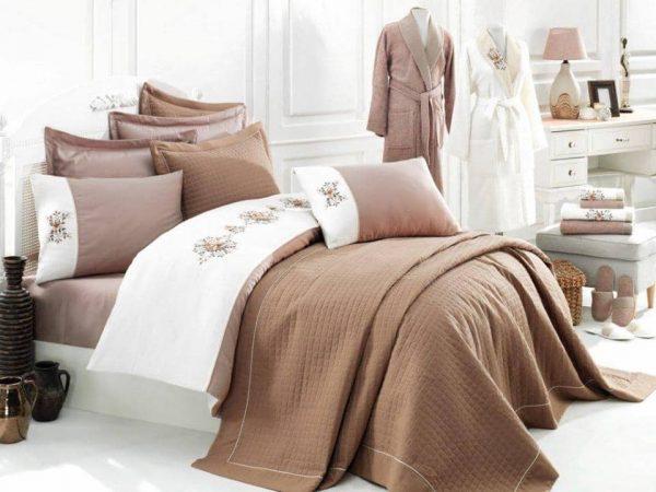 Луксозен семеен комплект за спалня и баня от 17 части 339