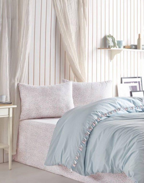 Двоен спален комплект от 100% памучен ранфорс 360