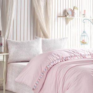 Двоен спален комплект от 100% памучен ранфорс 361