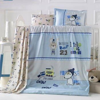 Бебешки спален комплект от 100% памучен ранфорс 370