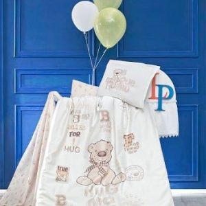 Бебешки спален комплект от 100% памучен ранфорс 371
