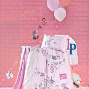 Бебешки спален комплект от 100% памучен ранфорс 372
