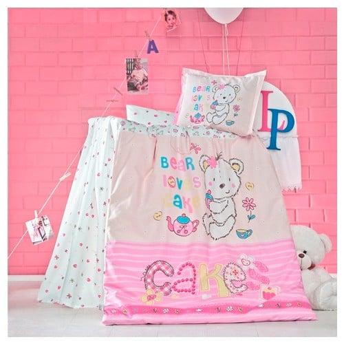 Бебешки спален комплект от 100% памучен ранфорс 375