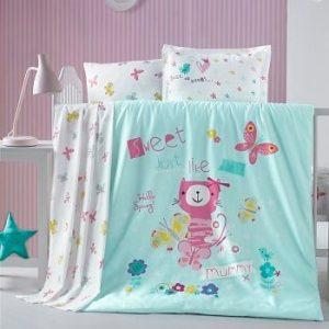 Бебешки спален комплект от 100% памучен ранфорс 377